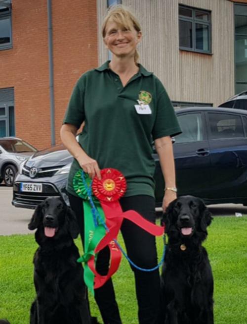 Dog competition training